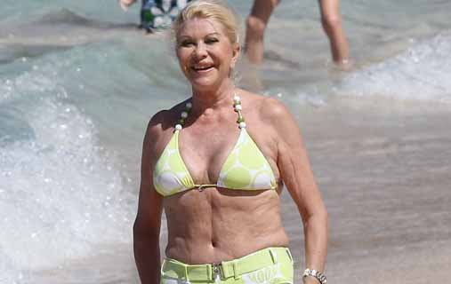 Ivana trump bikini pictures 100 7 jack fm san diego radio